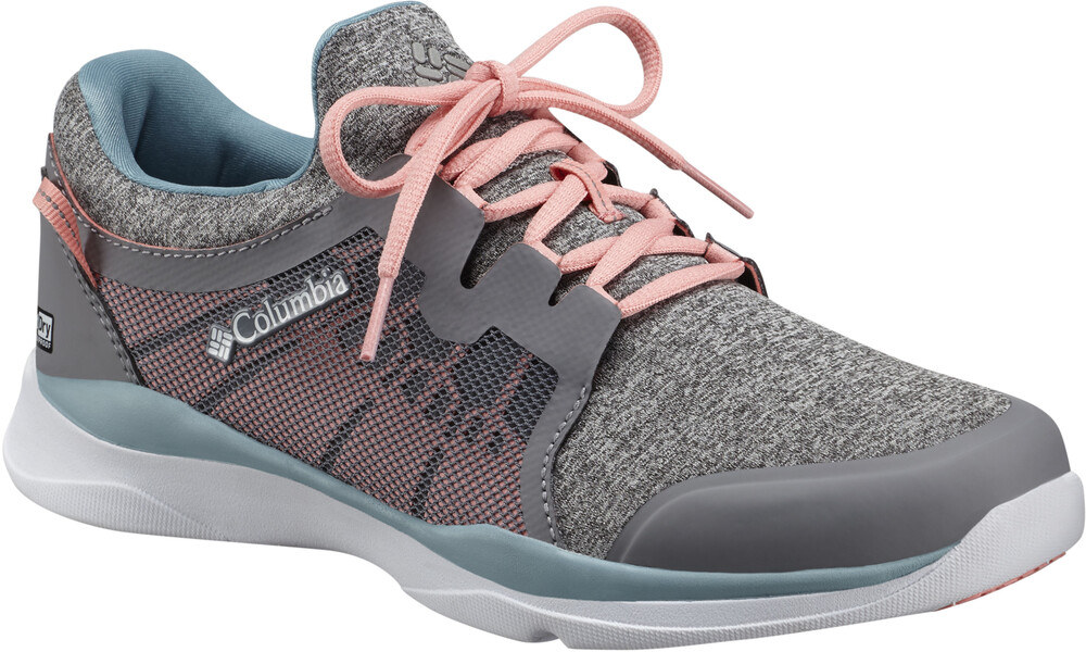 Columbia ATS Trail LF92 Outdry Shoes Women Grey Ice/Sorbet Schuhgröße US 9,5